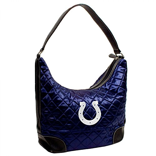 INDIANAPOLIS COLTS NFL QUILTED HOBO (NAVY)