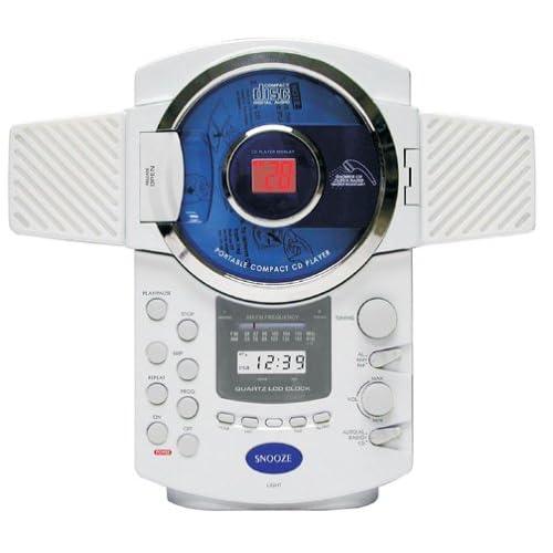 Amazon.com: Spectra CR-500 AM/FM Stereo Shower Alarm Clock Radio w/ CD