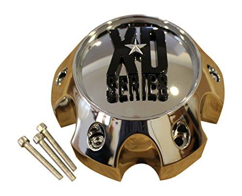 KMC XD Series 796 797 798 Chrome 6 Lug Wheel Rim Center Cap 1079L145 (Xd Chrome Center Caps compare prices)