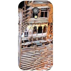 Motorola Moto G (2nd Gen) Back Cover - Traditional House Designer Cases