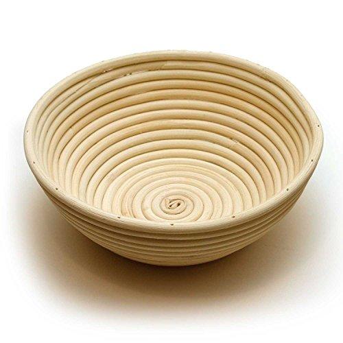Happy Sales Round Proofing Basket Banneton Brotform 10 inch (Bread Form compare prices)