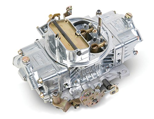 Holley 0-80592S 600 CFM Four Barrel Supercharger Manuel Choke Carburetor (450 Holley Carb compare prices)