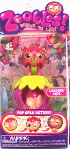 Zoobles Azoozia Collection #078 Leodore Toy Mini Figure - 1