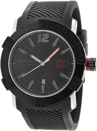 Tommy Hilfiger Analog Black Dial Men's Watch - NTH1790735/D