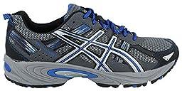 ASICS Men\'s Gel Venture 5 Running Shoe, Silver/Light Grey/Royal, 9.5 M US