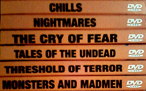 PC Treasures, Inc. Classic Horror Movies Collection on 6 DVDs: CHILLS, NIGHTMARES, THE CRY OF FEAR, TALES OF THE UNDEAD, THRESHOLD OF TERROR, MONSTERS AND MADMEN (Fear Inc compare prices)