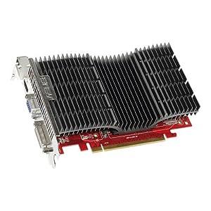 ASUS EAH5570 SILENT/DI/1GD2 Carte graphique Radeon HD 5570 PCI Express 2.1 x16 1 Go DDR2 Digital Visual Interface, HDMI ( HDCP )