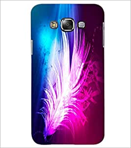 PrintDhaba Feather D-2434 Back Case Cover for SAMSUNG GALAXY GRAND MAX (Multi-Coloured)