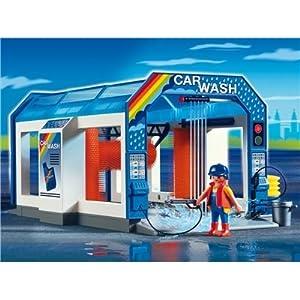 Amazon.com: Playmobil Car Wash: Toys & Games