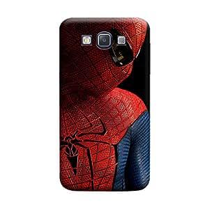 MakemyCase Samsung A3 Spiderman Superhero 3D Matte Finishing Printed Designer Hard Back Case Cover (Multicolor)