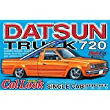 Aoshima Models Datsun 720 Pick-Up Truck Short Box with Cal Look, 1:24 Scale
