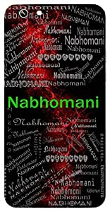 Nabhomani (Jewel Of The Sky ( Sun)) Name & Sign Printed All over customize & Personalized!! Protective back cover for your Smart Phone : Apple iPhone 7