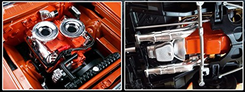 Hemi Bullet Hemi 426 Engine with Headers and Transmission Replica 1/18 by Acme A1806702E (Hemi Bullet compare prices)