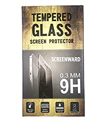SCREEN WARD Tempered Glass Screen Guard Protector for Htc One M9+ M9