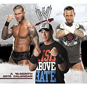 (11x12) WWE - 16-Month 2013 Wall Calendar