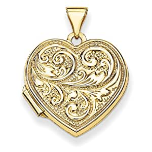 Love You Always Heart Locket Locket-necklaces : Sports & Outdoors