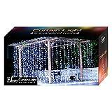 Fuloon - Rideau Lumineux LED Guirlande Lumineux 3M x 3M 300 LEDs avec 8 Modes pour le