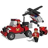 Best Lock 112 Piece Fire Rescue Block Set, Multi Color