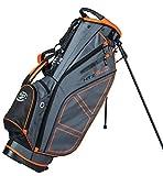 Hot-Z Golf 2.0 Stand Bag - Gray Orange