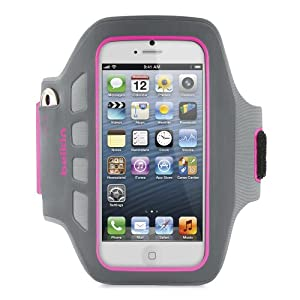 Belkin EaseFit Plus Armband For New Apple iPhone 5 (Pink)