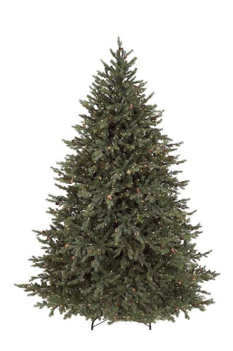 GKI Bethlehem Lighting 7 1 2 Foot PE PVC Pre Lit Christmas Tree With 850 Clea