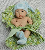 Reborn Baby Doll Lifelike Baby Children Doll Boy Brooke 11 Inch