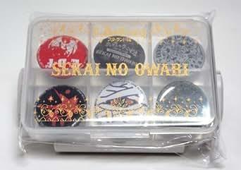 2014 SEKAI NO OWARIの全国ARENA TOUR 2014 「炎と森のカーニバル-スターランド編-」ピルケース付缶バッジセット