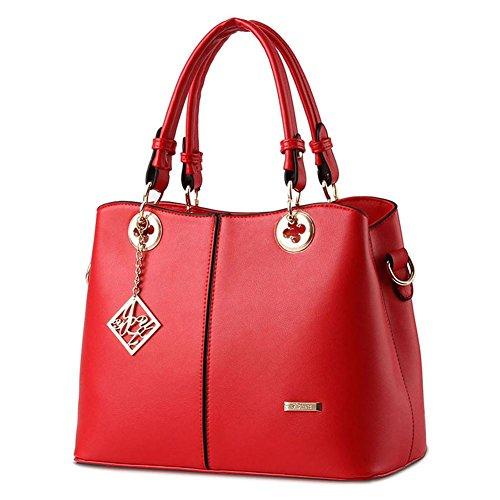 dolce-signora-atmosferica-moda-pu-pelle-donne-sezione-verticale-tracolla-messenger-handbag-big-red