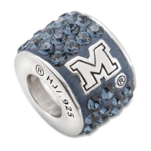 Michigan Wolverines NCAA Premier Bead