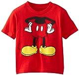 Disney Little Boys' Mickey Headless Group Tee Toddler
