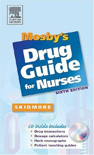 Mosby's Drug Guide for Nurses