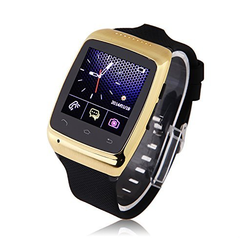 """Intsun® S15 Bluetooth Smart Watch Luxury 1.54"""" Touch Screen Sports Wristwatch Wristband Phone Watch Phone Mate Sync Built-In 8G Memory 2.0M Camera Unlocked For Ios Apple Iphone 5S 5 4S 4 Android Samsung S5 S4 S3 S2 Note 3 Note 2 Blackberry Htc Lg Sony Nok"""