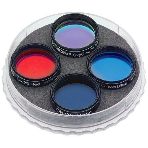 Orion 5580 1.25-Inch Stargazer'S Eyepiece Filter Set