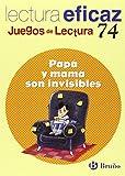 Papá y mamá son invisibles Juego Lectura (Castellano - Material Complementario - Juegos De Lectura)