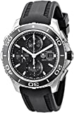 TAG Heuer Men's CAK2110.FT8019 Aquaracer 500 Analog Display Swiss Automatic Black Watch