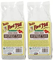 Bob's Red Mill Organic Buckwheat Flour, 22 oz, 2 pk from Bobs Red Mill