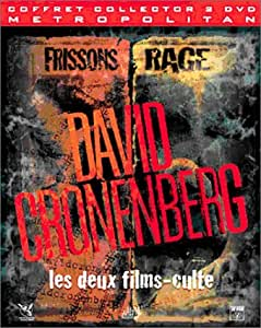 Coffret Collector David Cronenberg : Rage / Frissons - Digipack 2 DVD [Édition Collector]