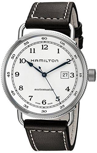 [ハミルトン]HAMILTON 腕時計 カーキ ネイビー パイオニア オート 機械式自動巻 10気圧防水 H77715553 メンズ 【正規輸入品】