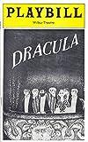 "Edward Gorey""DRACULA"" Frank Langella/Bram Stoker 1977 Boston Tryout Playbill"