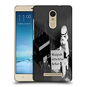Snoogg Will Help Build Battle Printed Protective Phone Back Case Cover For Xiaomi Redmi Note 3