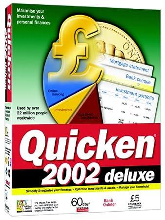 Quicken 2002 Deluxe