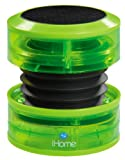 iHome Portable Speaker for MP3 Players (Green Neon) Reviews