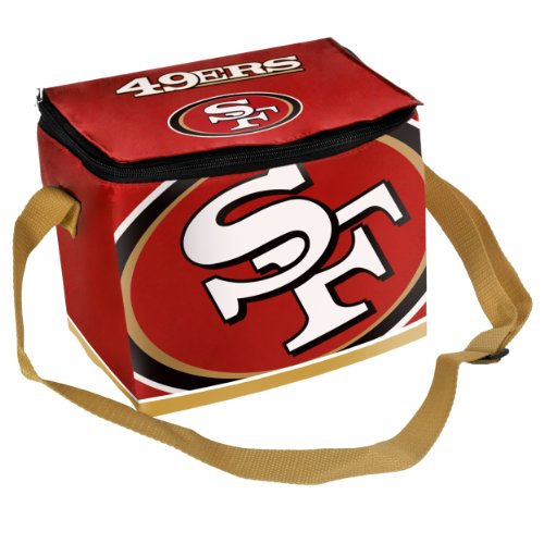NFL San Francisco 49ers Big Logo Team Lunch Bag at Amazon.com