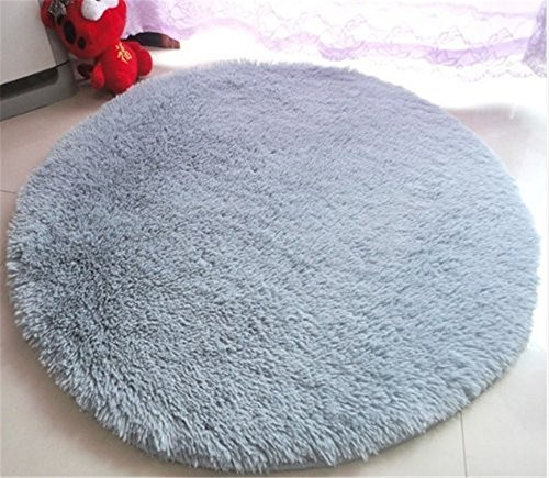 SZXXC Home Decorator Modern Shag Area Rugs Super Soft Solid Living Room Carpet Bedroom Washable Rug and Carpets 47.2