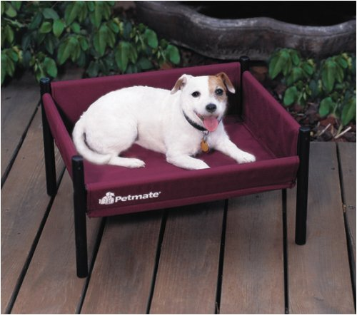 Petmate Durabed - Small Burgundy