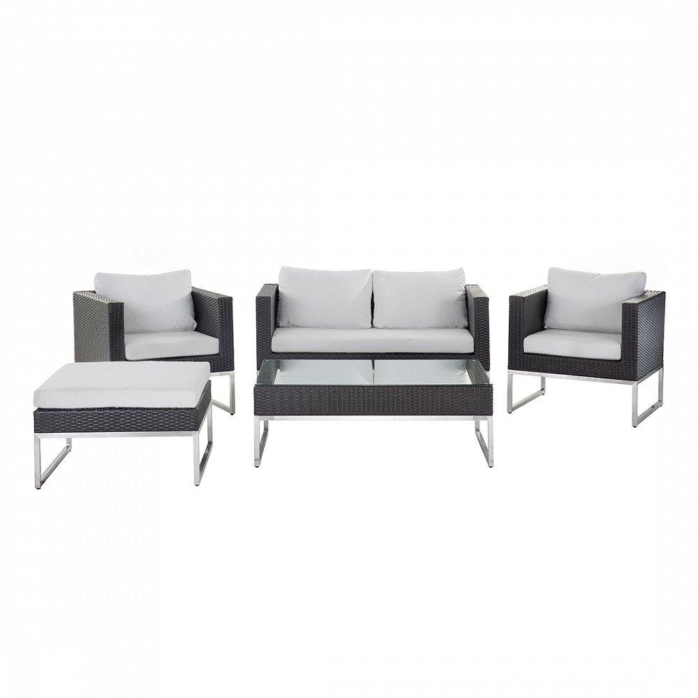 5-tlg. Gartenmöbel-Set Maebh mit Sitzkissen jetzt bestellen
