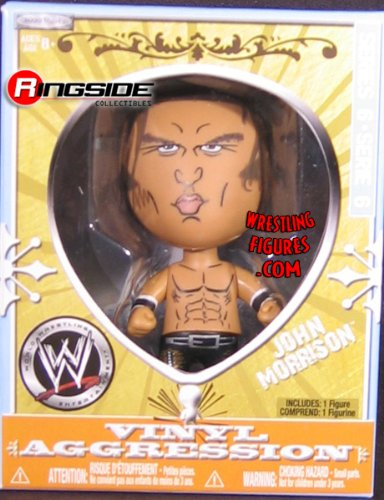 "JOHN MORRISON VINYL AGGRESSION 6 (3"" FIGURE) WWE Wrestling Action Figure"