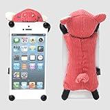 ぬいぐるみ iPhoneカバー ☆ CASEY'S ☆ ケーシーズ ぶた ブタ iPhone5 iPhone5s iPhone5c 対応