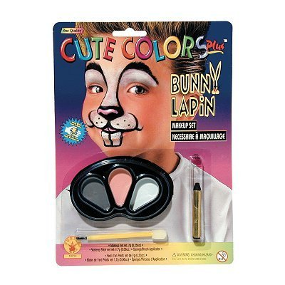Rubie's Costume Co Cute Colors Bunny Makeup - 1