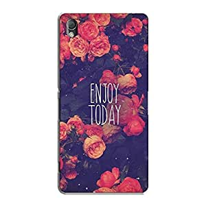 ENJOY TODAY BACK COVER FOR SONY XPERIA Z3